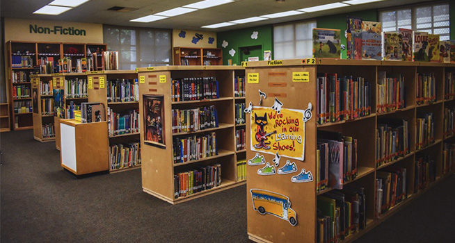 Schools & Education Fire Extinguishers For Library