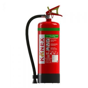 6 KG Clean Agent Fire Extinguisher (HFC236fa Based Portable Stored Pressure)