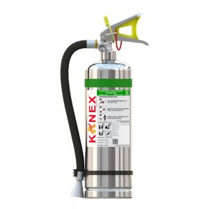 6 KG Clean Agent SS Body Fire Extinguisher (FE 36 Based Portable Stored Pressure)