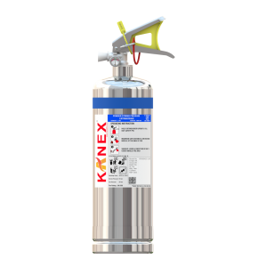 2 KG ABC SS Body Fire Extinguisher (Map 90 Based Portable Stored Pressure)