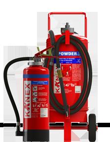 BC Powder Fire Extinguishers