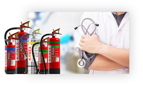 Fire Extinguisher For Hospital
