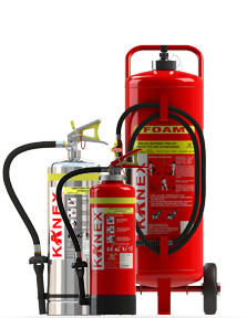 Water & Foam Fire Extinguisher