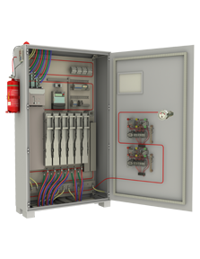 Fire Suppression System for Electrical Cabinet